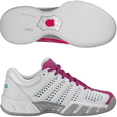 pretty nice 3ce05 4c634 K-Swiss BIGSHOT LIGHT 2.5 Carpet Damen Indoor Tennisschuhe 93502-924