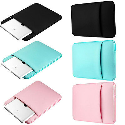 "Laptop Notebook Sleeve Case Zipper Bag For MacBook Air/Pro 11/13/15 inch 15.6""PC"