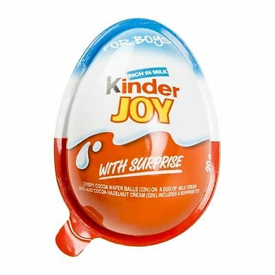 32 KINDER JOY - Chocolate Surprise Eggs - for boys best gift for kids surprise