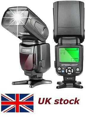 Neewer NW-561 Speedlite Flash LCD Display for Canon 450D 1300D 550D 350D 400D