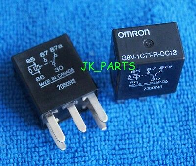 2pcs ORIGINAL 12V OMRON G8V-1C7T-R-DC12 G8V1C7TRDC12 Micro Automotive Relay