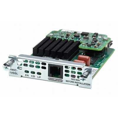 Cisco 1-port VDSL2/ADSL2+ EHWIC over POTS with Annex M - DSL-Modem - EHWIC -