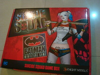 Knight Models Suicide Squad Game Box Metal New