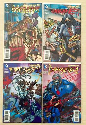 3D Variant Cover Lot Dc (See List In The Description) 28 Issues 1St Print Nm