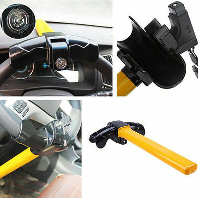 Car Steering Wheel Lock Anti-Theft Security Keys T Style Steel Devices For Benz