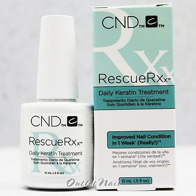 CND Rescue Rxx RESCUERXX .5 oz /15mL Daily Keratin Treatment 0.5/15ml
