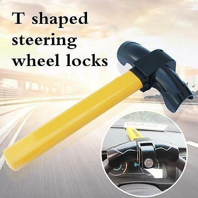 Anti Theft Car SUV Steering Wheel Lock Heavy Duty Safety metal Clamp Tool Device