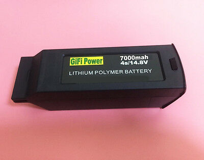7000mAh 4S 14.8V Replace Lipo Battery For YUNEEC TYPHOON H