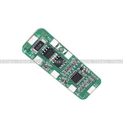4A 5A PCB BMS Protection Board for 4 Packs 4S 18650 Li-ion lithium Battery Cell