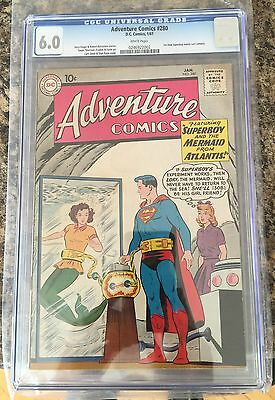 ADVENTURE COMICS #280 CGC 6.0 White pages CANADA SELLER