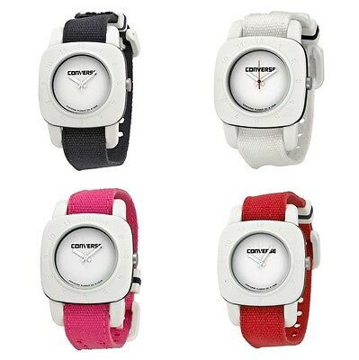 New Converse 1908 Matte White Dial Canvas Strap Unisex Watch - Choice of color!
