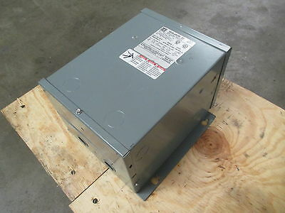 Square D 2S1F 2 kVA 240x480 to 120/240 General Purpose Transformer 3R/Rainproof
