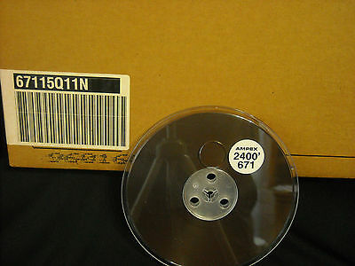 *sale*save*case Of 40 At $3.50 Per Reel! New Ampex #671-2400' Pro Recording Tape