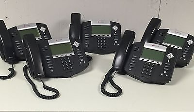 Polycom SoundPoint IP 550 SIP Phone- 5 Pack