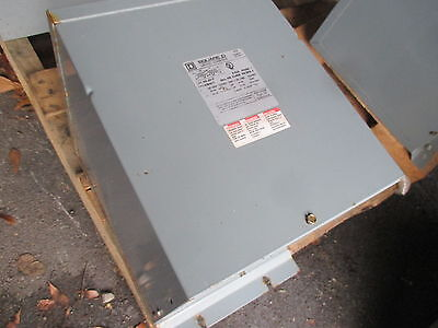 Square D 5S1F 5 kVA 240x480 - 120/240 General Purpose Transformer 1 PH