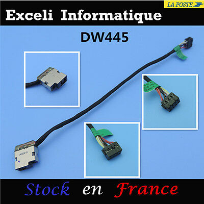 DC POWER JACK IN CABLE FOR HP Pavilion P/N: 709802-YD1 CBL00360-0150 719859