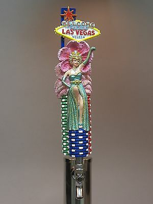 """fabulous Las Vegas"" Bar Beer Tap Handle Direct From Ron Lee"