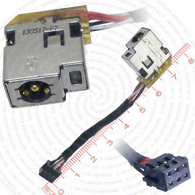 HP CBL00293-0100 DC IN Cable Power Jack Port Socket Harness ... on