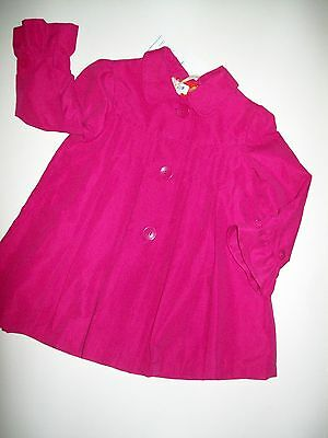 Baby Girls Coat Boots Bows & Arrows Brand Pink  NEW 1 1/2-2 yrs