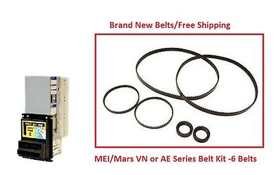 Mars (MEI) 2000 Series VN/AE Bill Validator Acceptor Belt Kit