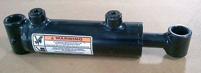 """WELDED CYLINDER 2"""" BORE x 4"""" STROKE 1"""" DIA ROD - 3,000 PSI"""