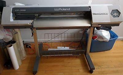 Used Roland VersaCamm VP-300 for making decals, banners, vinyls and more