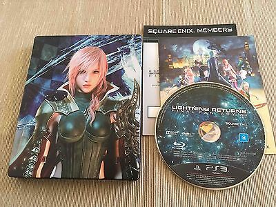 Lightning Returns: FF XIII Collector's Edition (PlayStation 3, 2014) AUS PAL