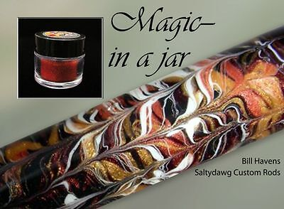Powdered Pigments (6 pack) For Marbling Rod Blanks - Marble like the Pros!