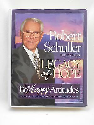 Robert Schuller Legacy Of Hope VHS/Cassette/Book Christian Box Set RARE Be Happy