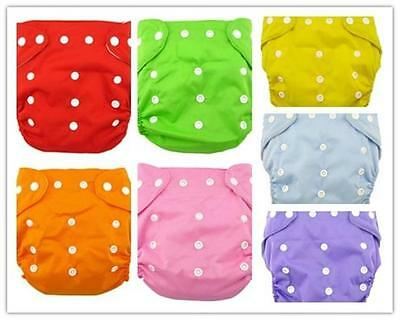Hot Cute Baby Infant Toddler Washable Cloth Reusable Diaper Short fiber Cover