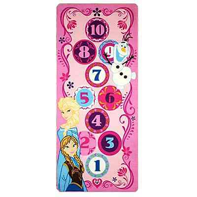 Game Rug Gertmenian Sons Disney Frozen Hopscotch Interactive Toys Polyester