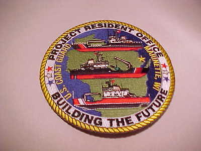 U.s. Coast Guard Project Resident Office Marinette Wisconsin Patch