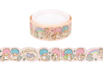 Sanrio Little Twin Stars 1.5 cm Die Cut Paper Deco Tape (2015)