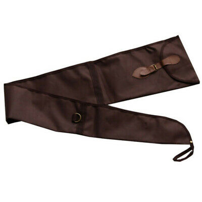 "53"" Brown Long Gun Rifle Sack Sleeve Storage Sock Durable Lightweight Cover NEW"