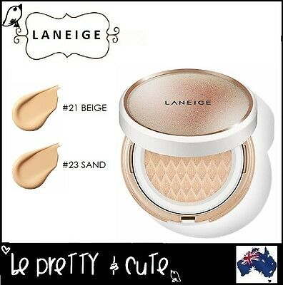 LANEIGE ANTI AGING BB CUSHION SPF50+ PA+++ WITH EXTRA REFILL (#21 #23) 2x15g