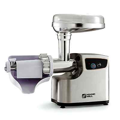 Heavy Duty Electric Meat Grinder & Tomato juicer 3 Grinding Blades By Magic Mill