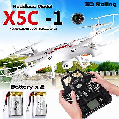 X5C-1 6-Axis Gyro RC drone drone UVA 2.4g RTF Quadcopter UFO avec 0.3MP Camera