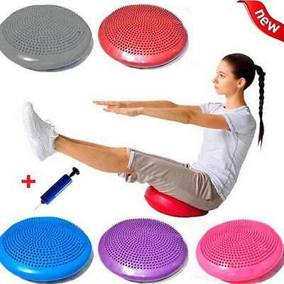 Wobble Air Stability Balance Training Cushion Disc Posture Pad Borad 33cm