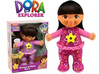 Doll Dora Dream And Glow With Projector For Goodnight - Fisher Price