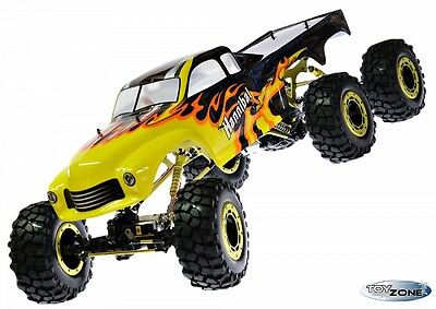 RC Monstertruck Crawler 6x6 Climber Rock Fighter Hannibal 104cm 1:5 HSP 2,4 GHz