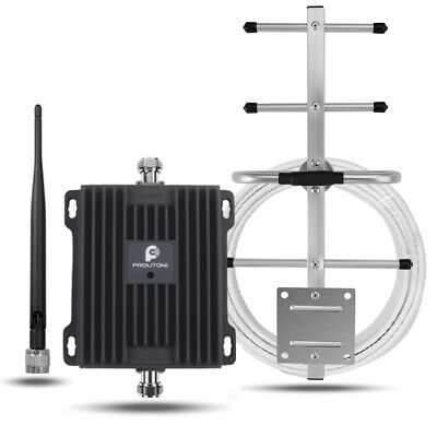 New 60dB Gain 850MHz WCDMA Phone Signal Booster 2G/3G Repeater for CA TELUS/Bell