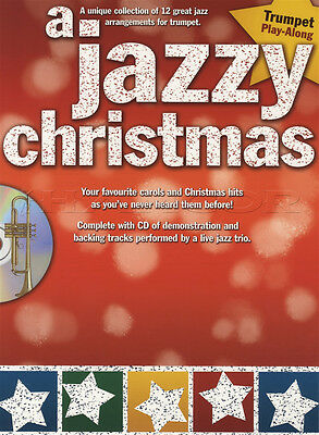 A Jazzy Christmas Trumpet Play-Along Sheet Music Book with CD Silent Night