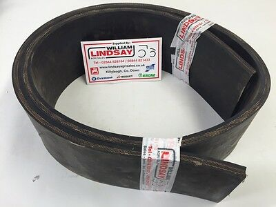 """WML Replacement Rubber For Tractor  Yard Scraper & Bobman 7ft x 5"""" x 5/8"""""""