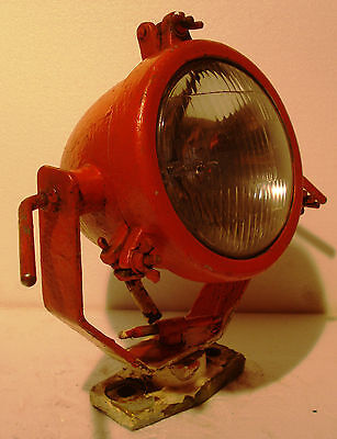 Vintage SHIP'S BRASS SEARCH Light / Lamp with STAND- SHIP'S 100% ORIGINAL