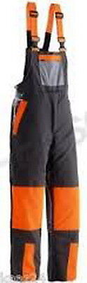 Husqvarna Classic Chainsaw Safety Carpenter Bib and Brace Trousers XXL