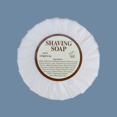 Mitchell's Wool Fat Shaving Soap Male Grooming Retro Shave Old School Soap
