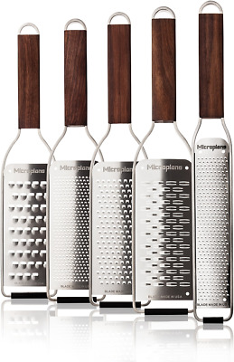 Microplane Master Stainless Steel Hand Cheese Grater Slicer Zester