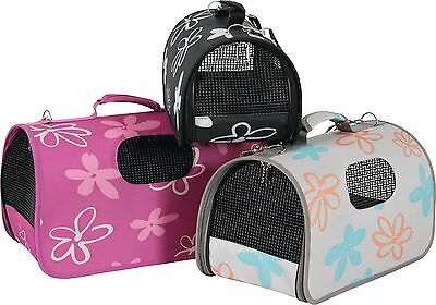 Pet Travel Carrier Bag Portable Crate Puppy Dog Cat Rabbit Kennel Transport