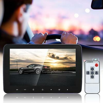 "10"" HD Digital LCD Screen Car Headrest Monitor Hi-Fi Stereo MP3 MP5 USB SD"