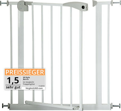 Adjustable Safety Gate BERRIN | 12 sizes | stair door auto-close children baby